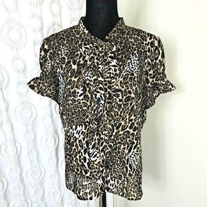 Allison Taylor blouse Sz XL